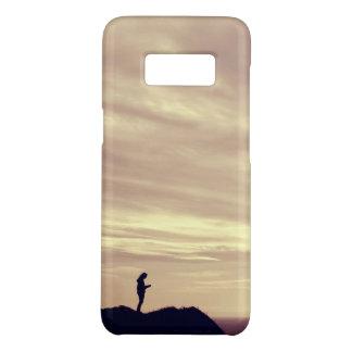 Capa Case-Mate Samsung Galaxy S8 Por do sol dos penhascos de Pennard