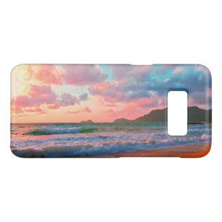 Capa Case-Mate Samsung Galaxy S8 Por do sol havaiano tropical