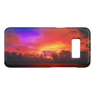 Capa Case-Mate Samsung Galaxy S8 Por do sol tropical
