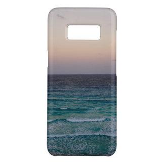 Capa Case-Mate Samsung Galaxy S8 Praia e céu no tempo do por do sol