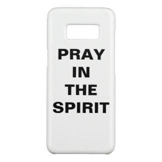 """Capa Case-Mate Samsung Galaxy S8 """"Pray caixa da galáxia S8 de Samsung no espírito"""""""