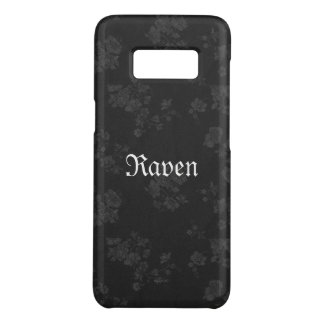 Capa Case-Mate Samsung Galaxy S8 Preto eterno gótico de Name* do *Your
