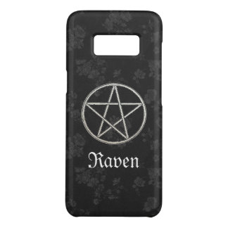 Capa Case-Mate Samsung Galaxy S8 Preto eterno gótico do Pentacle