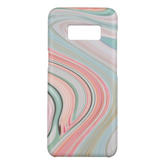 Capa Case-Mate Samsung Galaxy S8 redemoinhos cor-de-rosa corais do mármore da