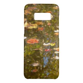 Capa Case-Mate Samsung Galaxy S8 Reflexão das folhas e do córrego de outono no