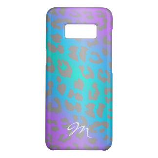 Capa Case-Mate Samsung Galaxy S8 Refrigere o impressão animal do leopardo elétrico