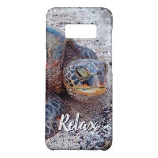 "Capa Case-Mate Samsung Galaxy S8 ""Relaxe"" a foto do Fim-acima da tartaruga de mar"