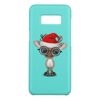 Capa Case-Mate Samsung Galaxy S8 Rena Nerdy do bebê que veste um chapéu do papai