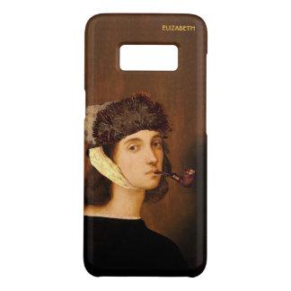 Capa Case-Mate Samsung Galaxy S8 Retrato de auto de Raphael com chapéu e tubulação