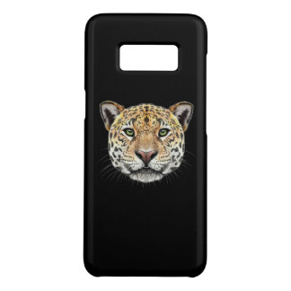 Capa Case-Mate Samsung Galaxy S8 Retrato ilustrado do Jaguar.