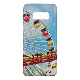 Capa Case-Mate Samsung Galaxy S8 Roda de ferris do carnaval do divertimento e foto