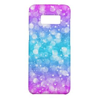 Capa Case-Mate Samsung Galaxy S8 Rosa Glam moderno & azul de Ombre do brilho de
