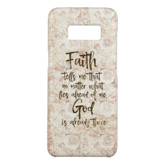 Capa Case-Mate Samsung Galaxy S8 Rosas gastos do vintage com citações da fé