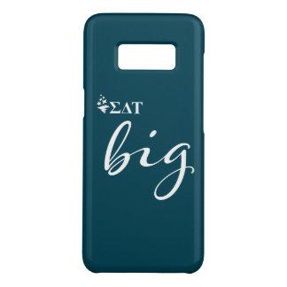 Capa Case-Mate Samsung Galaxy S8 Roteiro grande da tau | do delta do Sigma