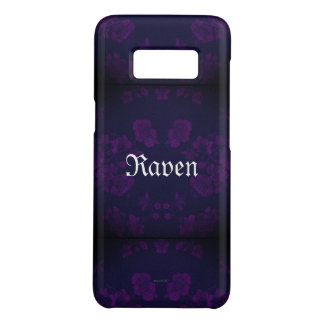 Capa Case-Mate Samsung Galaxy S8 Roxo eterno gótico de Name* do *Your