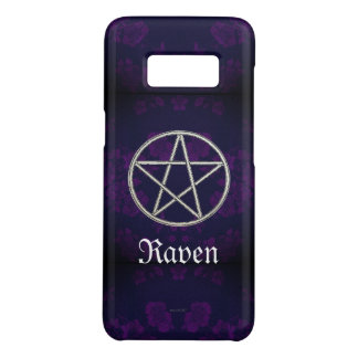 Capa Case-Mate Samsung Galaxy S8 Roxo eterno gótico do Pentacle