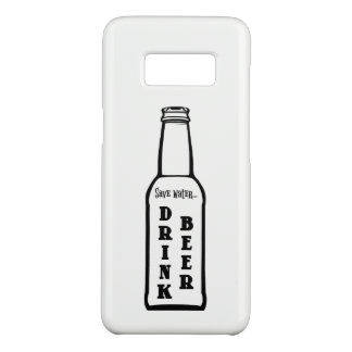 Capa Case-Mate Samsung Galaxy S8 Salvar a caixa da galáxia S8 de Samsung da cerveja