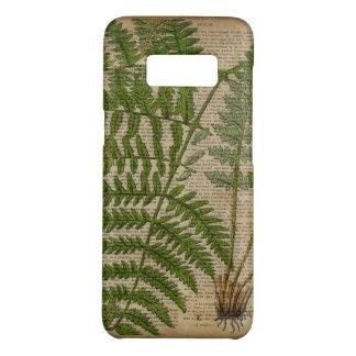 Capa Case-Mate Samsung Galaxy S8 samambaia botânica francesa do impressão da folha