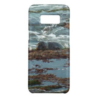 Capa Case-Mate Samsung Galaxy S8 Selo de porto do Lit do por do sol mim em San