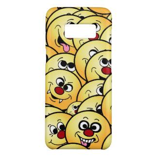 Capa Case-Mate Samsung Galaxy S8 Smileys face engraçados de Grumpeys ajustados