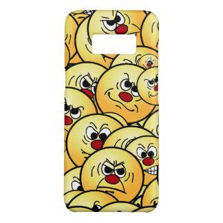 Capa Case-Mate Samsung Galaxy S8 Smileys face irritados de Grumpeys ajustados
