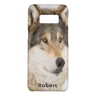 Capa Case-Mate Samsung Galaxy S8 Sorriso do lobo de Brown