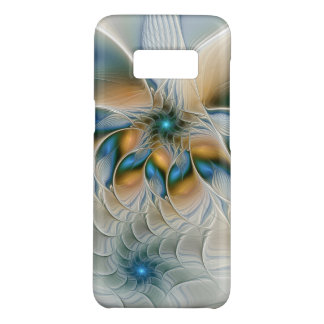 Capa Case-Mate Samsung Galaxy S8 Subindo, abstraia a arte do Fractal da fantasia