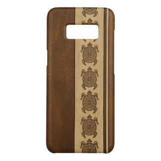 Capa Case-Mate Samsung Galaxy S8 Tartaruga havaiana de madeira do falso de Uhane