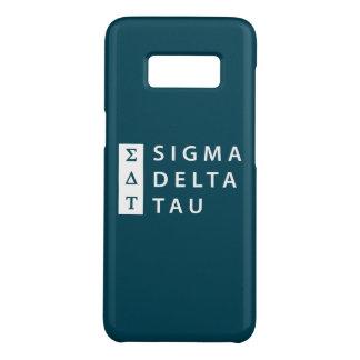 Capa Case-Mate Samsung Galaxy S8 Tau | do delta do Sigma empilhado
