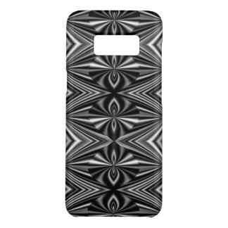Capa Case-Mate Samsung Galaxy S8 Teste padrão à moda preto e branco contemporâneo