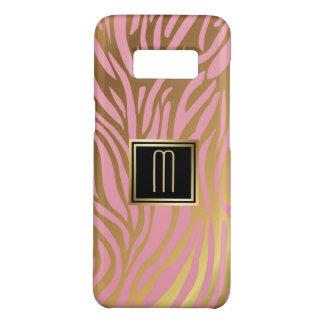 Capa Case-Mate Samsung Galaxy S8 Teste padrão da listra do tigre do rosa do