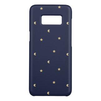 Capa Case-Mate Samsung Galaxy S8 Teste padrão da noite estrelado