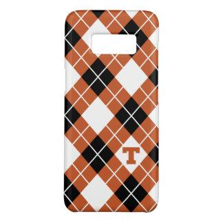 Capa Case-Mate Samsung Galaxy S8 Teste padrão da Universidade do Texas | Argyle