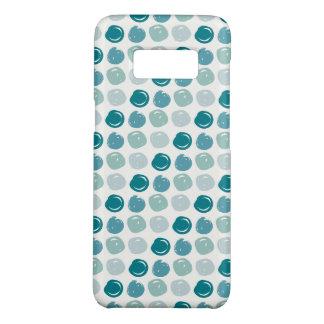 Capa Case-Mate Samsung Galaxy S8 Teste padrão de bolinhas dos azul-céu