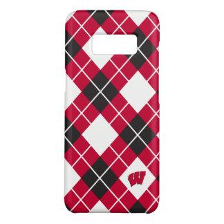 Capa Case-Mate Samsung Galaxy S8 Teste padrão de Wisconsin | Argyle