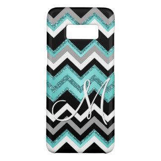Capa Case-Mate Samsung Galaxy S8 Teste padrão de ziguezague retro chique de Chevron
