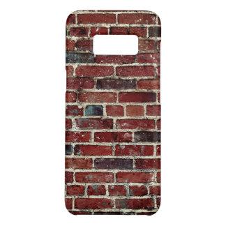 Capa Case-Mate Samsung Galaxy S8 Teste padrão legal da textura da parede de tijolo