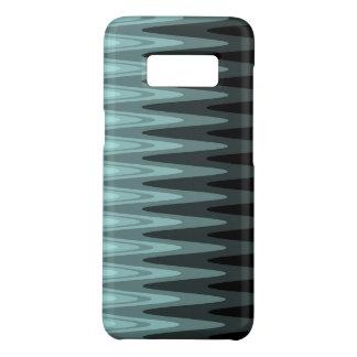 Capa Case-Mate Samsung Galaxy S8 Teste padrão preto das cinzas da cerceta do
