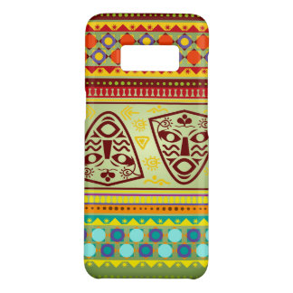 Capa Case-Mate Samsung Galaxy S8 Teste padrão tribal da máscara africana brilhante