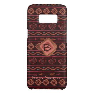 Capa Case-Mate Samsung Galaxy S8 Teste padrão tribal de Boho, personalizado
