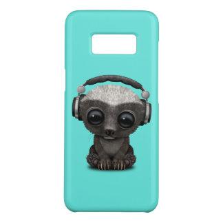 Capa Case-Mate Samsung Galaxy S8 Texugo de mel bonito DJ do bebê que veste fones de