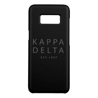 Capa Case-Mate Samsung Galaxy S8 Tipo moderno do delta do Kappa
