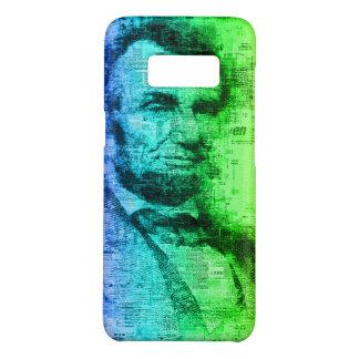 Capa Case-Mate Samsung Galaxy S8 Tipografia do arco-íris do presidente Abraham