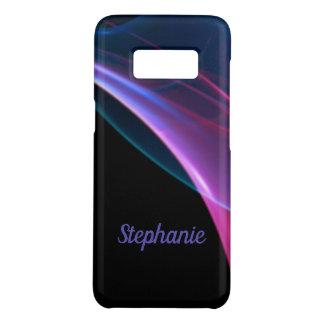 Capa Case-Mate Samsung Galaxy S8 Trabalhos de arte magentas e azuis sonhadores da