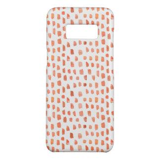 Capa Case-Mate Samsung Galaxy S8 Traços corais alaranjados