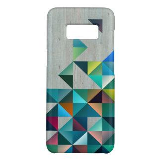 Capa Case-Mate Samsung Galaxy S8 Triângulos de madeira louros resistidos de