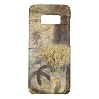 Capa Case-Mate Samsung Galaxy S8 Trigo de madeira da ferradura do país ocidental do