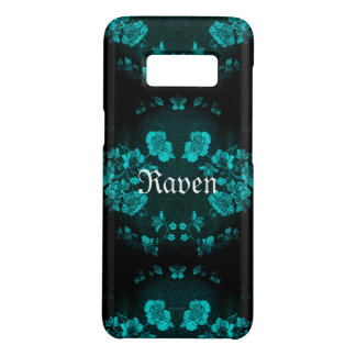 Capa Case-Mate Samsung Galaxy S8 Turquesa eterno gótico de Name* do *Your