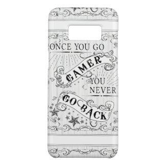 Capa Case-Mate Samsung Galaxy S8 Uma vez que você vai Gamer você nunca vai para