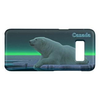 Capa Case-Mate Samsung Galaxy S8 Urso polar da borda do gelo - Canadá